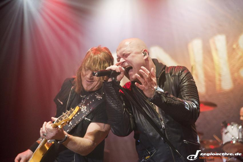 Unisonic live beim Knock Out Festival in Karlsruhe, 2014