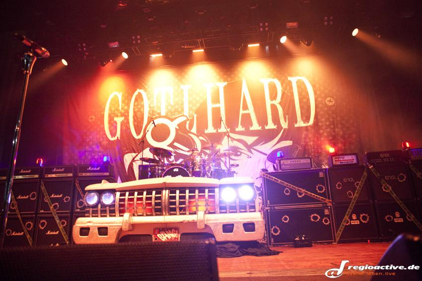Gotthard live beim Knock Out Festival in Karlsruhe, 2014