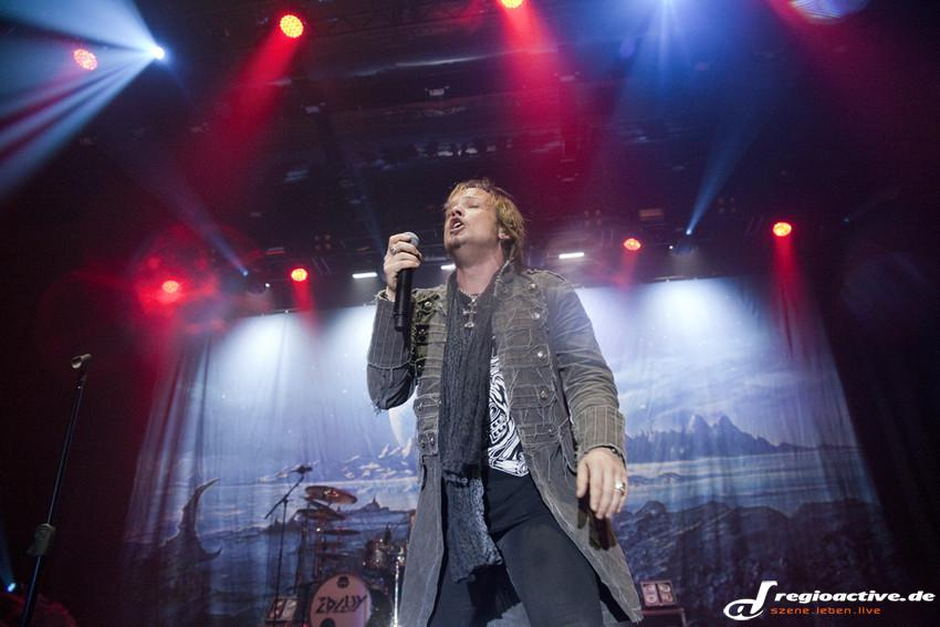 Edguy live beim Knock Out Festival in Karlsruhe, 2014